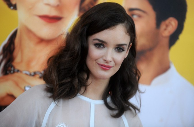 Charlotte Le Bon à l'avant-première New Yorkaise de The Hundred-Foot Journey le 4 août 2014