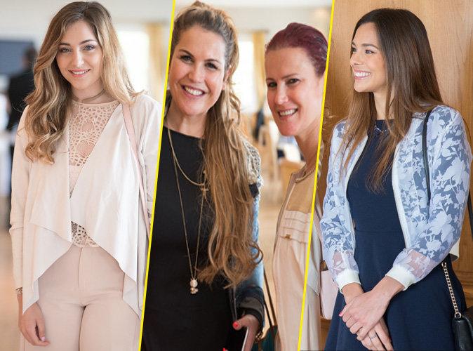 Charlotte Pirroni, Katia et Elma Aveiro, Marine Lorphelin