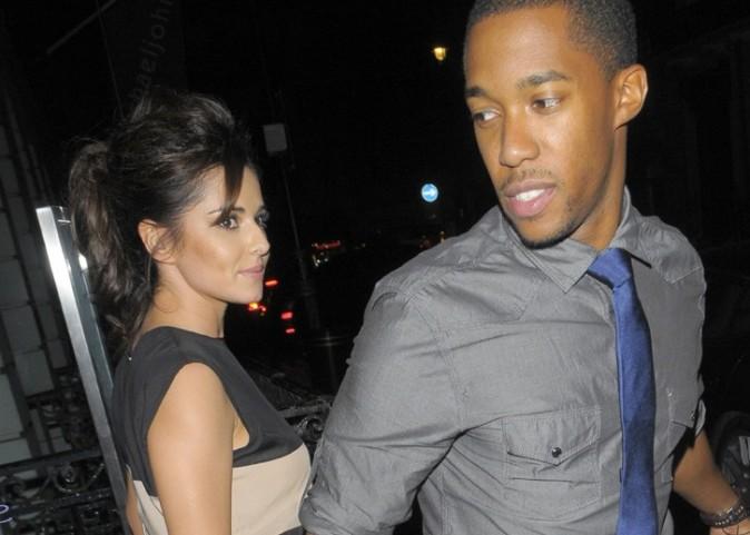 Cheryl Cole avec son boyfriend à Londres le 4 septembre 2012
