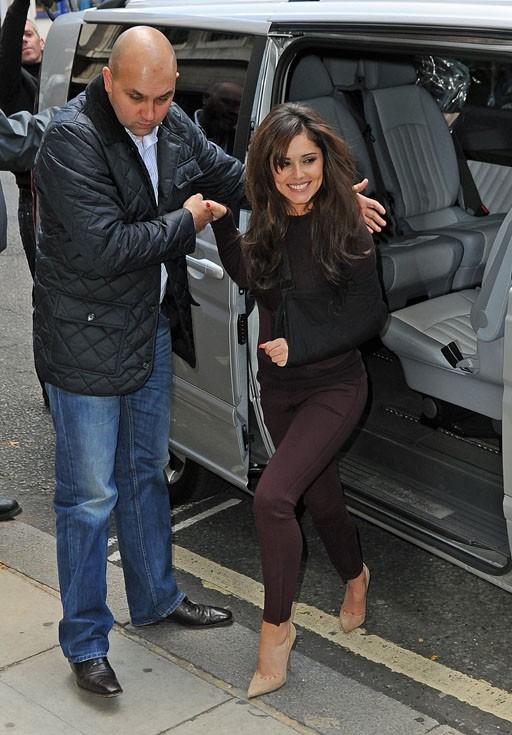 Cheryl Cole à Londres le 31 août 2012