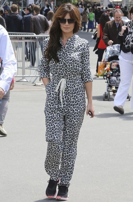 Cheryl Cole est à Paris !