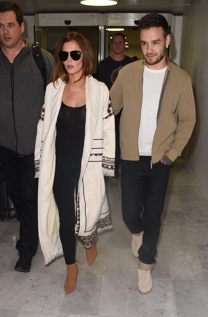 Cheryl Cole et Liam Payne à Paris le 9 mai 2016