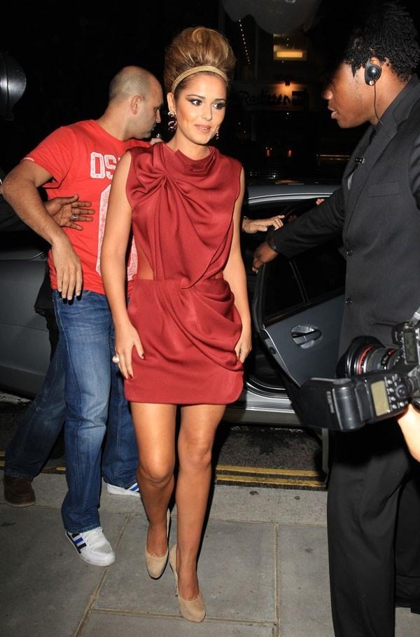 L'arrivée ultra-glamour de Cheryl Cole !