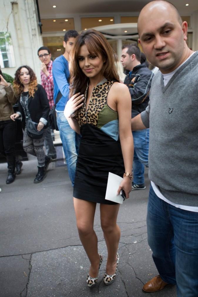 Cheryl Cole à Paris, le 14 juin 2012.