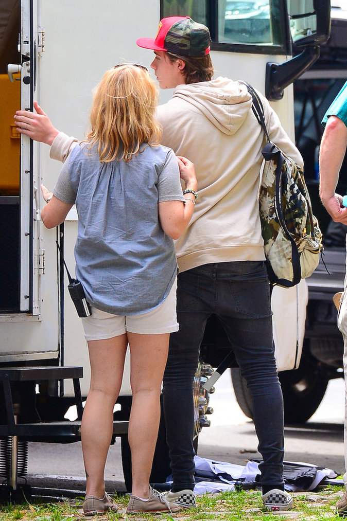 Photos : Chloe Grace Moretz : Brooklyn, son plus grand fan !