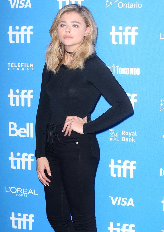 Chloë  Grace Moretz au festival de Toronto ce vendredi 16 septembre