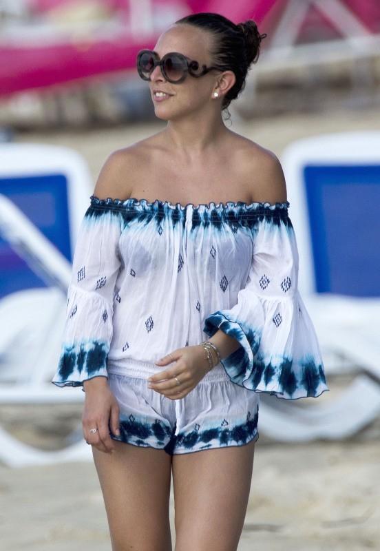 Chloe Green le 29 décembre 2012 à la Barbade