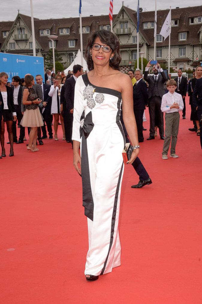 Audrey Pulvar au 42e Festival du film de Deauville