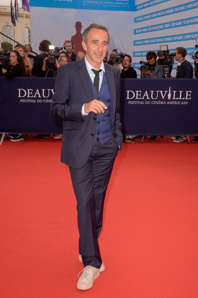 Elie Semoun au 42e Festival du film de Deauville