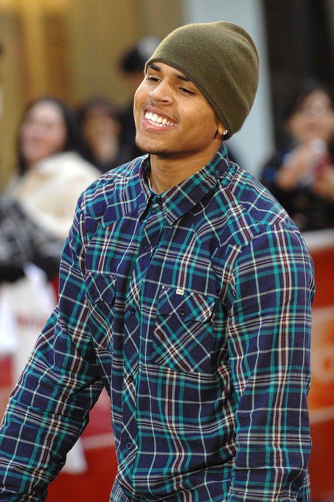 Photos : Chris Brown : découvrez sa nouvelle coiffure !
