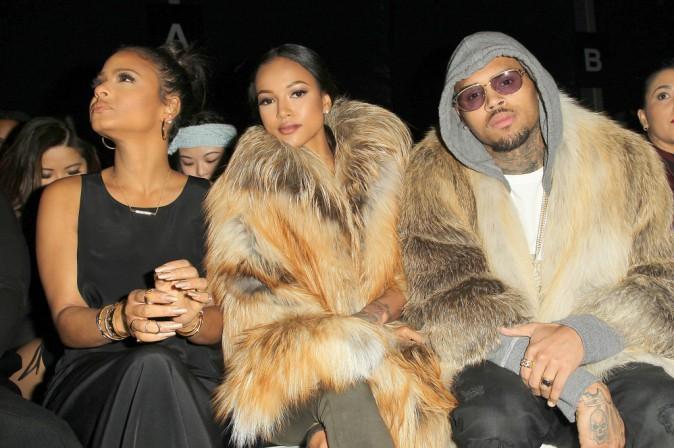 Photos : Chris Brown et Karrueche Tran : un couple au poil pour Michael Costello !