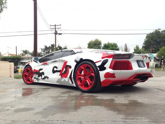 Chris Brown vous présente sa nouvelle Lamborghini !