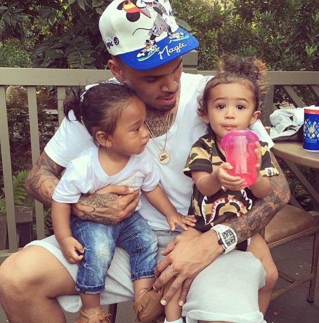 Chris Brown et Royalty le 1er juillet 2015