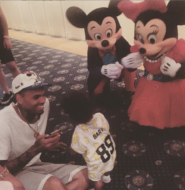 Chris Brown et Royalty le 22 juin 2015