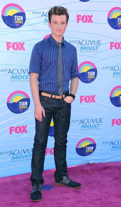 Plus tard, il s'est rendu aux Teen Choice Awards