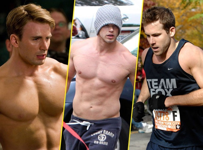 Photos : Chris Evans, Kellan Lutz, Ryan Reynolds... quel super-héros vous fait le plus fantasmer... ?