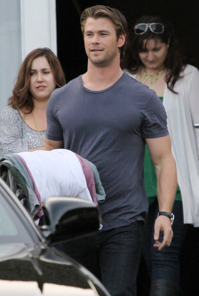Photos : Chris Hemsworth de Thor