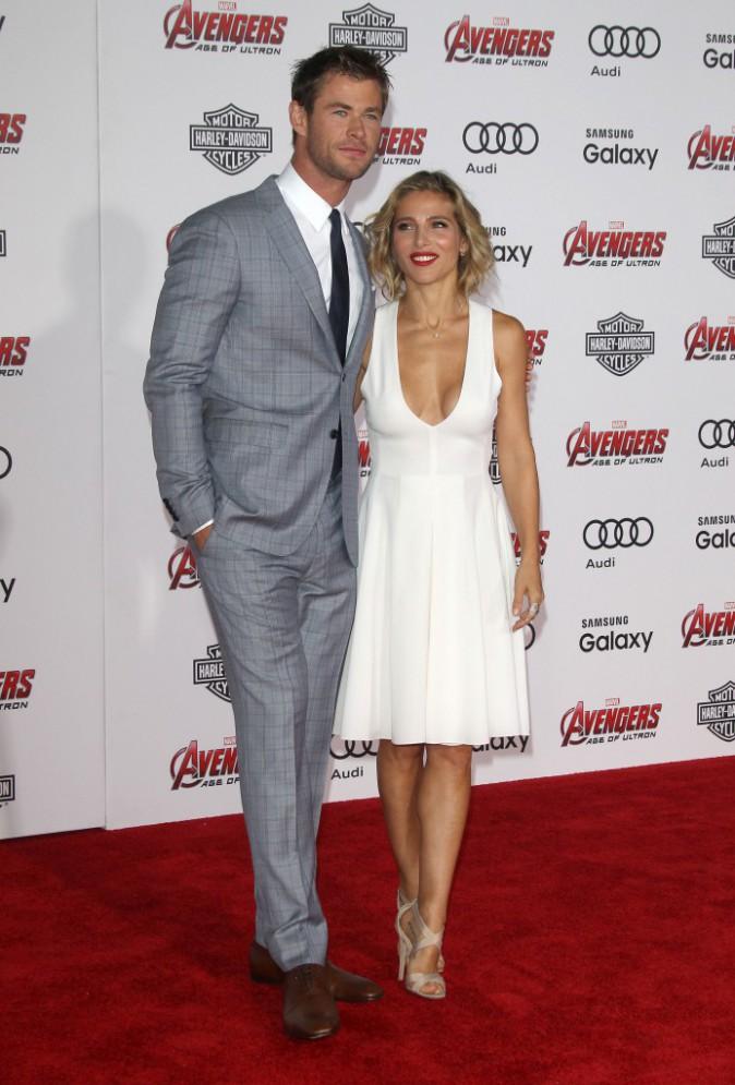 Photos : Chris Hemsworth et Elsa Pataki vs Susan et Robert Downey Jr. : soirée love à la première d'Avengers !