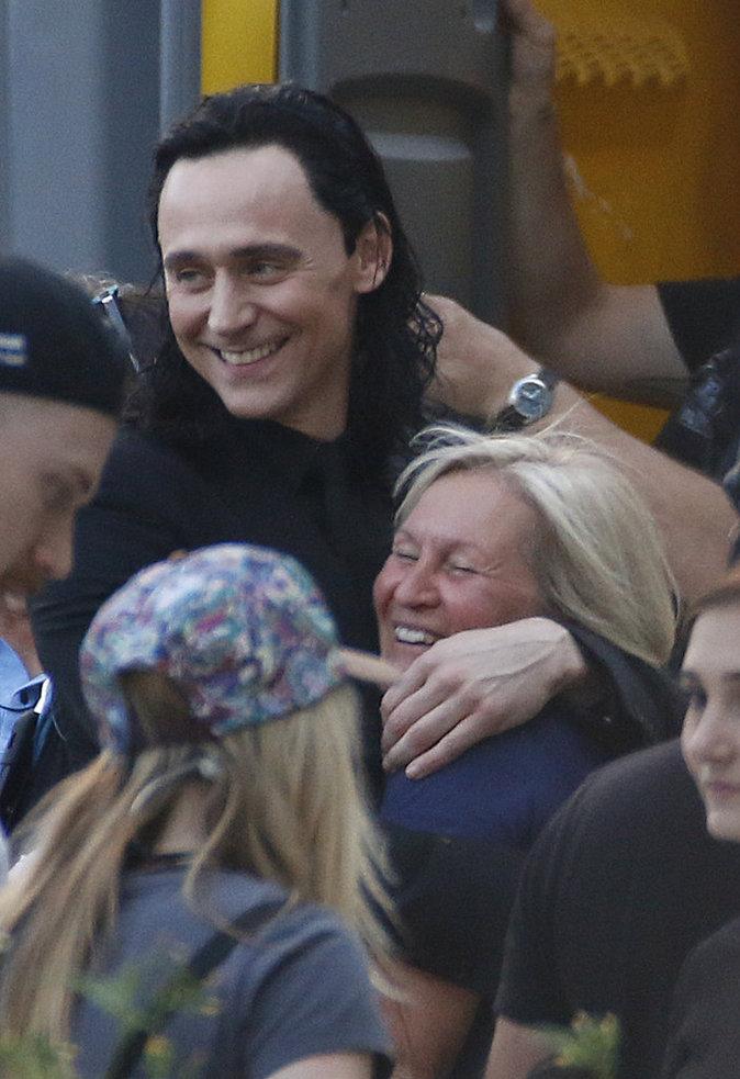 """Tom Hiddleston sur le tournage de """"Thor"""" en Australie ce dimanche 21 août"""