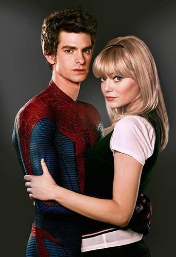 Andrew Garfield dans le rôle de Spider-Man