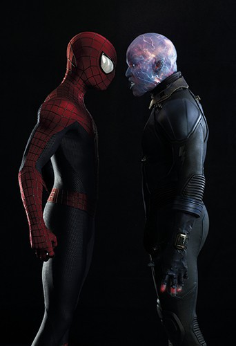 Jamie Foxx dans le rôle d'Electro (The Amazing Spider-Man 2)