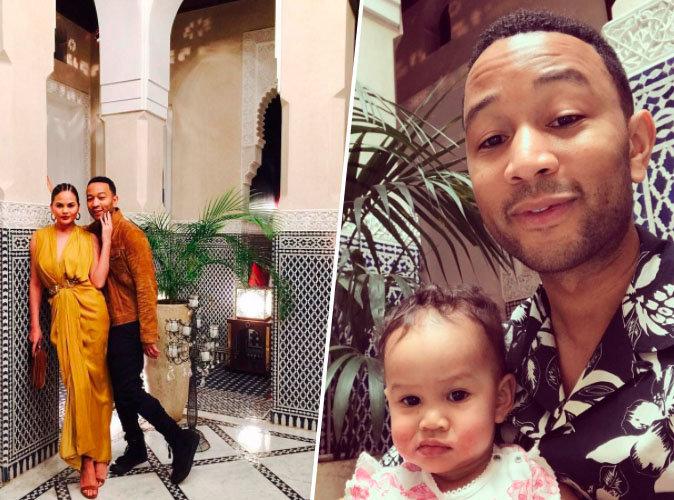 Chrissy Teigen et John Legend : leurs vacances de rêve à Marrakech !
