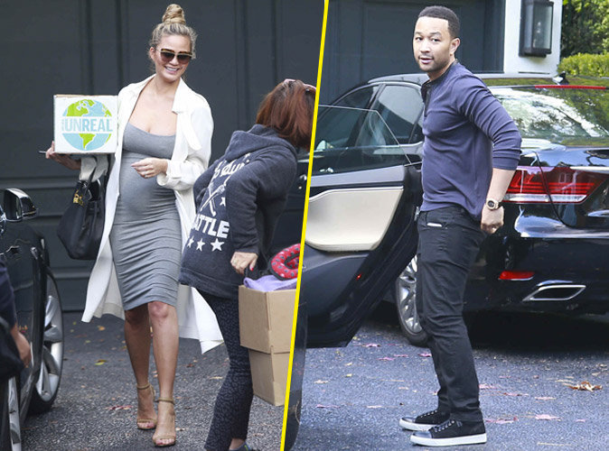 Photos : Chrissy Teigen et John Legend : nouveau nid d'amour pour une nouvelle vie !