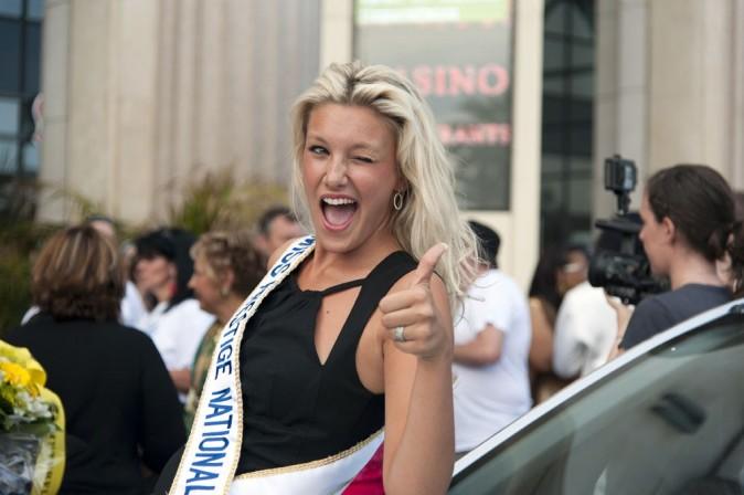 Christelle Roca à l'élection Super Mamie 2012 le 3 juin 2012
