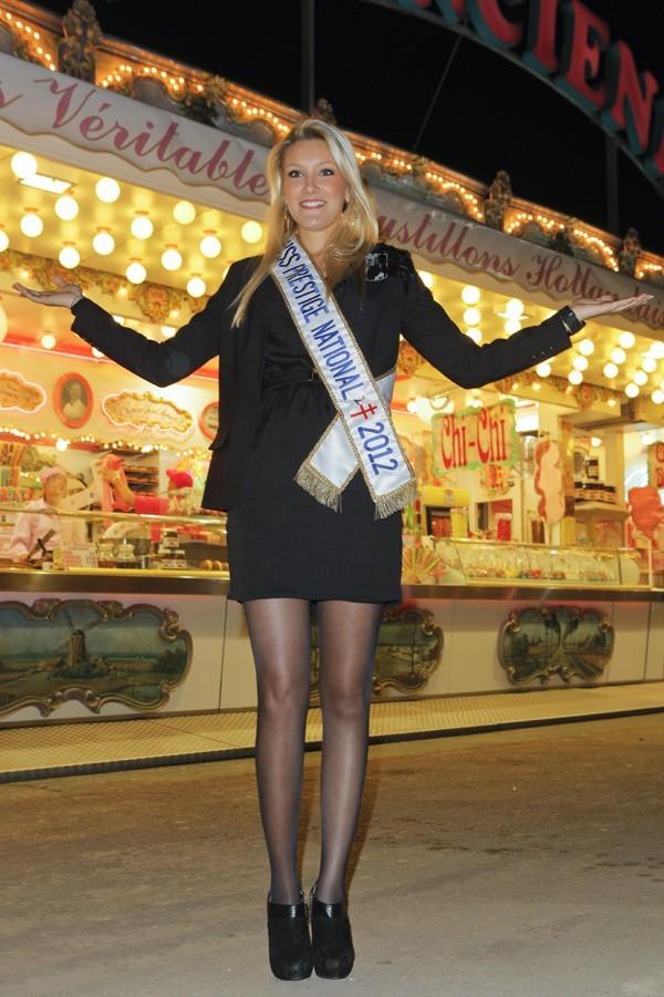 Christelle Roca à l'ouverture de La Foire du Trône