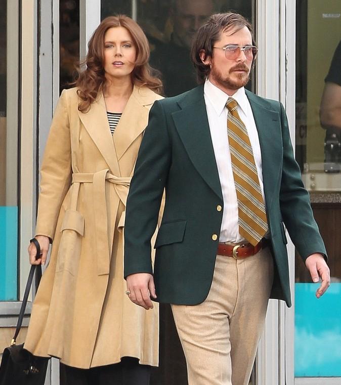 Christian Bale, méconnaissable sur le tournage de Abscam