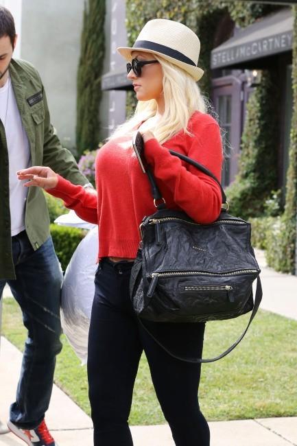 Christina Aguilera, Los Angeles, 5 mai 2013.