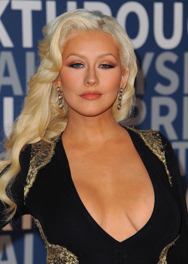 Christina Aguilera à Los Angeles le 8 novembre 2015