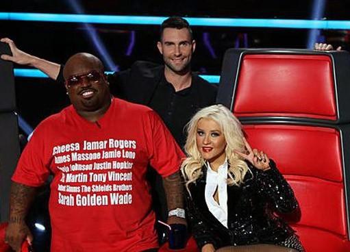 Les coachs pour la finale de The Voice US !