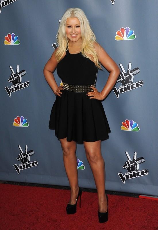 Christina Aguilera le 20 mars 2013 à Los Angeles