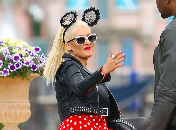 Christina Aguilera : toujours un bonheur de replonger dans l'ambiance Disney !