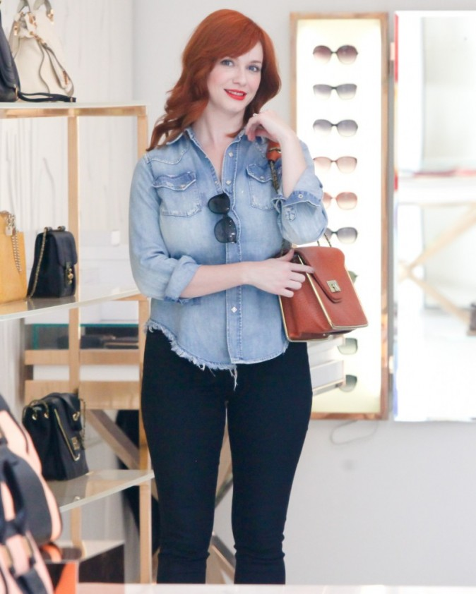 Christina Hendricks, Los Angeles, 20 Aout 2012