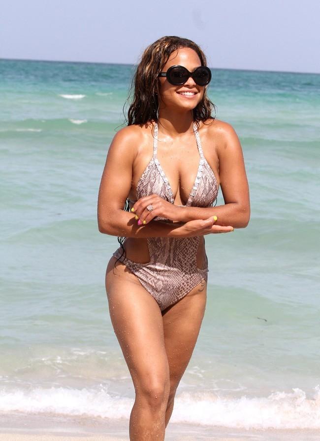 Christina Milian le 19 juillet 2012 à Miami