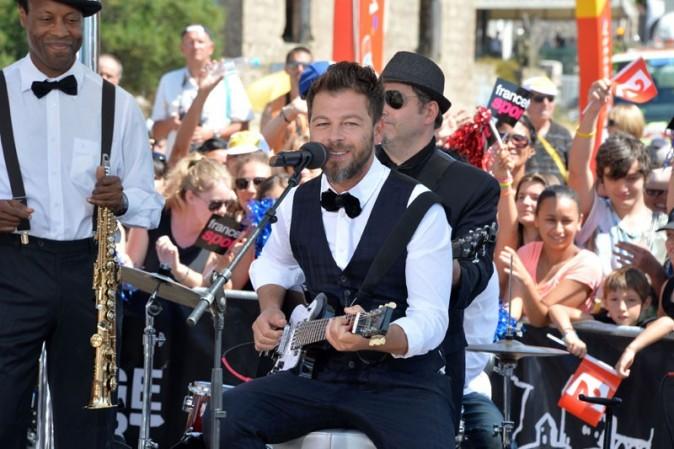 Christophe Maé à Porto-Vecchio le 29 juin 2013