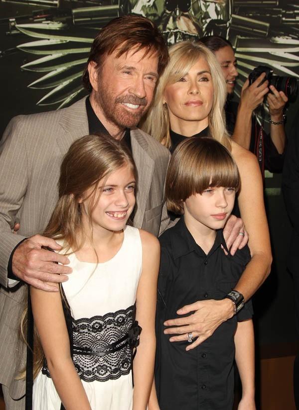 Chuck Norris quand il était encore beau gosse...