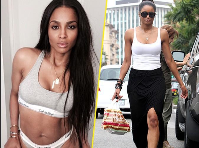 Photos : Ciara : 4 mois après avoir accouché, elle dévoile son body de folie… 27 kilos en moins !