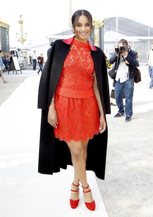 Ciara : agressée à Paris par Vitalii Sediuk avant le défilé Valentino, le 30 septembre 2014