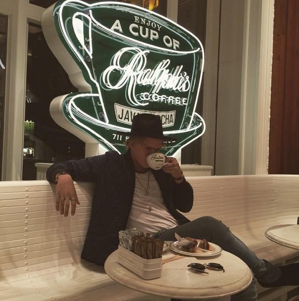 Cody Simpson le 12 février 2015