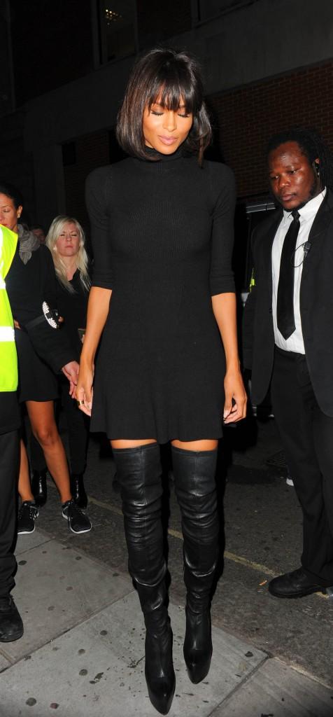 Photos : Ciara : cuissardes et robe courte... alerte à la bombe !
