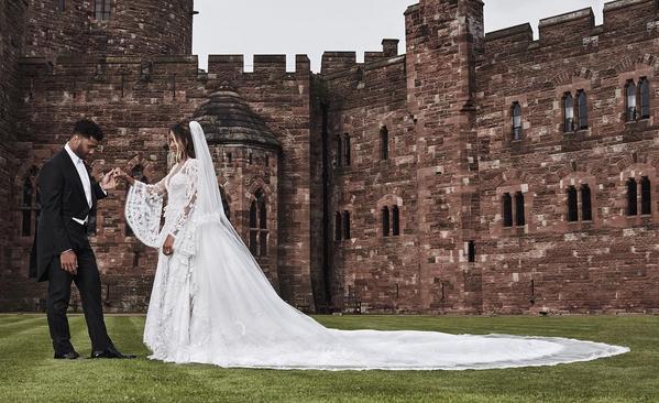 Photos : Ciara : Découvrez l'album de son mariage conte de fée !