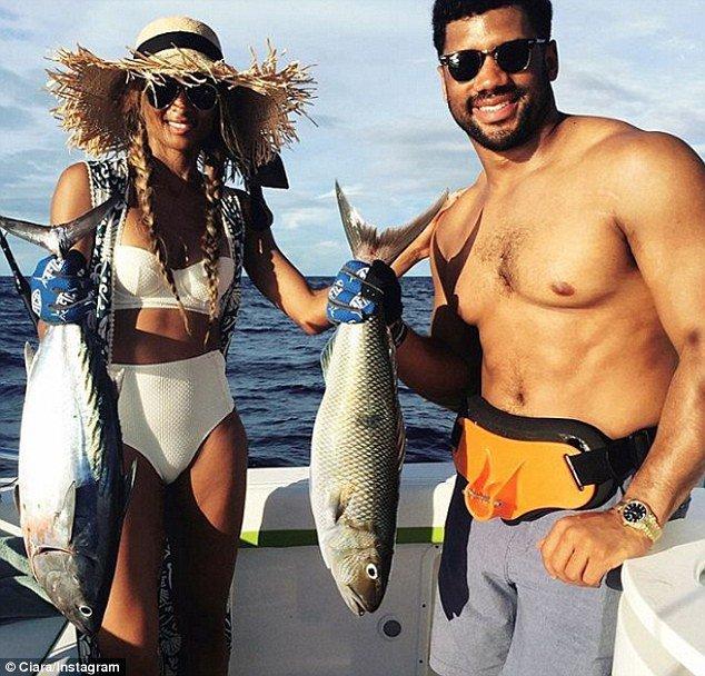 Ciara s'éclate avec Russell Wilson