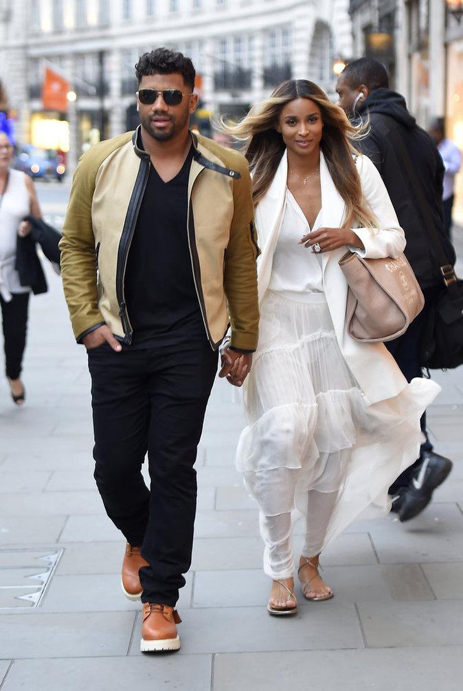 Ciara et Russell Wilson : shopping de luxe pour les jeunes mariés !