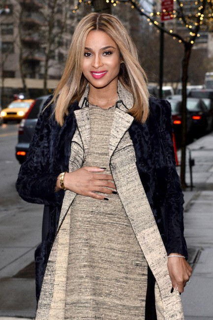 Ciara à New York, le 14 janvier 2014.