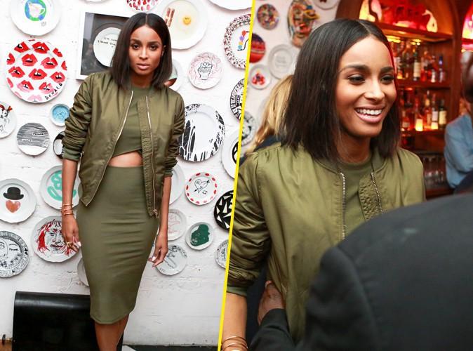 Ciara à New York le 10 septembre 2015