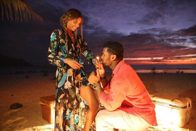 Ciara et son fiancé Russell Wilson