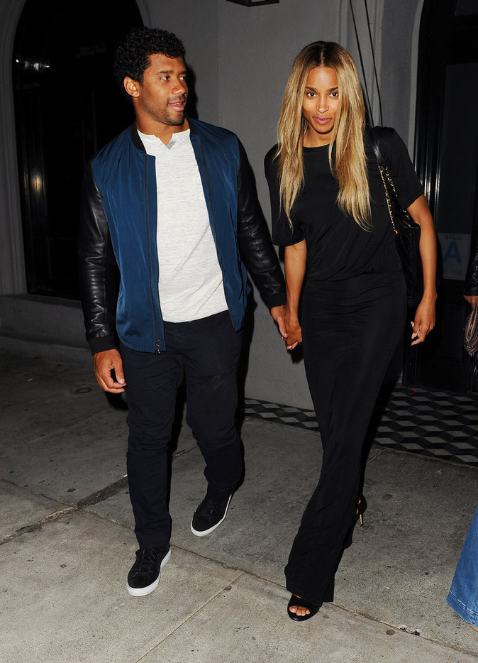 Ciara et Russell Wilson sont adorables